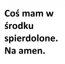 Na amen.
