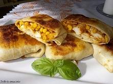 Naleśniki z kurczakiem, pieczarkami i kukurydzą. Podaję najpierw przepis na naleśniki: Składniki na około 18-20 naleśników: * 2 szklanki mąki * 3-4 jajka (wszystko zależy od ich...