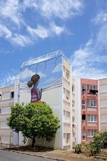 Niezwykły mural