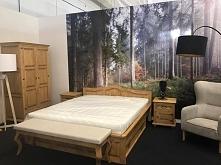 meble do sypialni z litego drewna