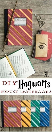 DIY- zeszyty z motywem Harrego Pottera