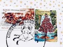 Pocztówka z Wyspy Bożego Narodzenia