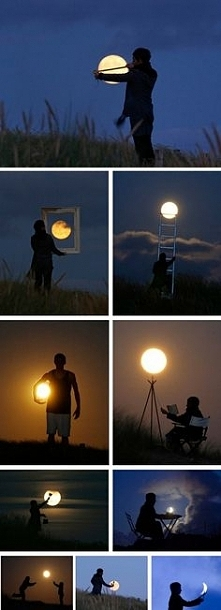 Piękny oryginalny pomysł na sesję :)