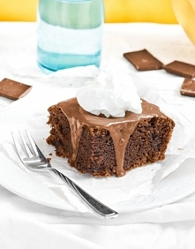 Ciasto bananowo-czekoladowe - pyszne i szybkie w przygotowaniu! :)