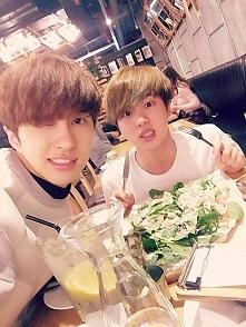 Ken (VIXX) & Jin (BTS)