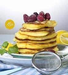 Puszyste pancakesy cytrynowe