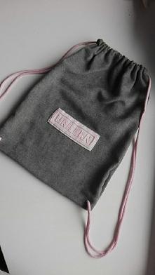 plecak worek mojej roboty :) mogę zrobić na zamówienie w dowolnej kolorystyce...