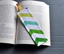 Zakładka do książki, uszyta...