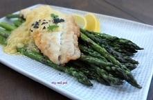 Filet rybny z masłem chrzan...