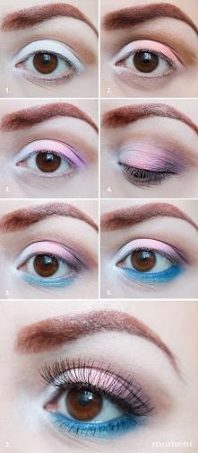 Wiosenny makijaż oczu krok ...