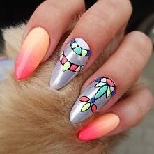 Odwiedź ladnepazurki.pl - mamy dla was mnóstwo wiosennych pomysłów na paznokcie! Odwiedź nas na facebooku :) Skomentuj tą inspiracje, daj nam znać co lubisz!