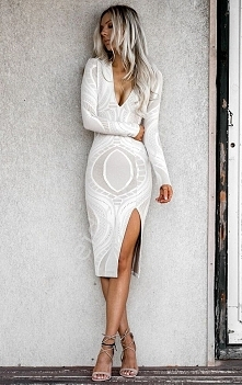 Dżersejowa sukienka. Lejdi.pl