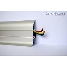 Aluminiowa listwa przypodłogowa LP55 dostępna dekorplanet.pl