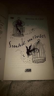 """,,Smak miłości"""" Vanessa St.Clair.. Książka dla nastolatek o nastolatce. ..."""