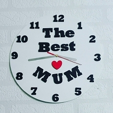 pamiętaj 26go maja jest Dzień Matki ... time2give ... przygotowało na tą okoliczność kilka wzorów zegarów ściennych o średnicy 30cm. ale jeżeli masz inny pomysł na zegar napisz ...