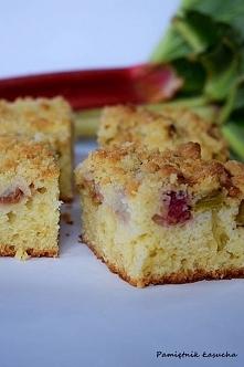 Ciasto z rabarbarem :)