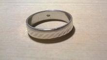 moją srebrną obrączkę kupił...