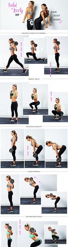 Jedne z najefektywniejszych ćwiczeń na pośladki, uwaga jedynie na ćwiczeni w ...