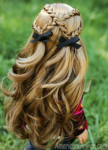 **** dla dziewczynki idealna fryzurka ****