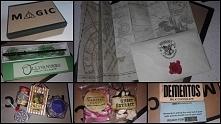 """""""Pudełko pełne magii"""" - prezent wykonany dla największej fanki Harr..."""