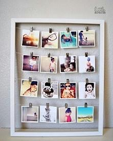 DIY- dekoracja ze zdjęć