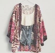 Czy w sklepach typu Bershka, H&M można dostać narzutki typu kimono?