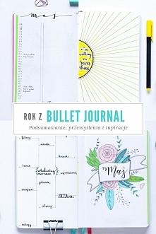 Właśnie mija rok odkąd zaczęłam prowadzić bullet journal :) Dla mnie to plane...