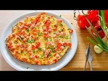 Pizza śniadaniowa