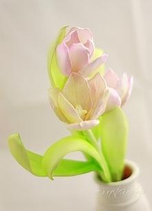 Ręcznie robione kwiaty
