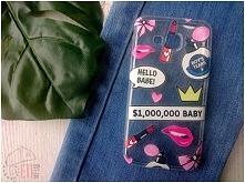 Etui z naszej autorskiej kolekcji Fashion Style - wzór Hello Babe! Etui dostępne na wiele modeli telefonów :)