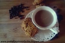 Ciasteczka na bazie kawy. Coś dla wielbicieli małej czarnej :) Zapraszam na przepis po kliknięciu w zdjęcie :)