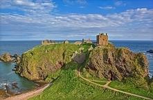 Zamek Dunnottar w Szkocji