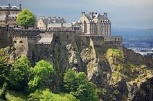 Zamek w Edynburgu w Szkocji