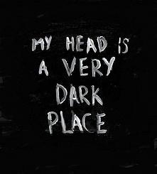 my head...