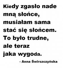 Anna Świrszczyńska, Stałam się słońcem