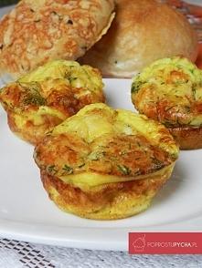 Serowe muffinki
