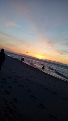 Zachód Słońca nad pięknym Polskim Morzem❤ Cieszę się,  że mogłam zrobić takie...