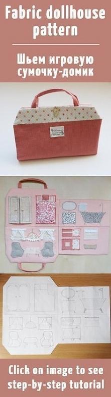 Jaki prosty i jaki cudny :) Będzie prezent DIY dla bratanicy.