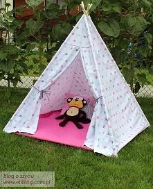 Namiot teepee dla dzieciakó...