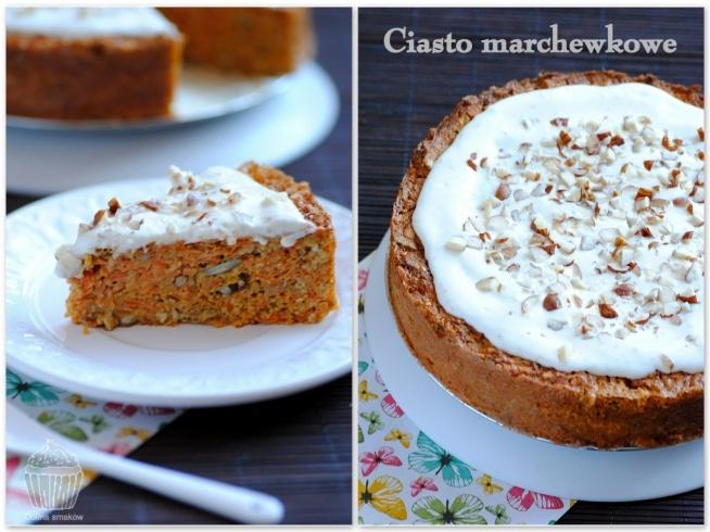 Dietetyczne ciasto marchewkowe