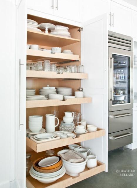 Naczynia - przechowywanie