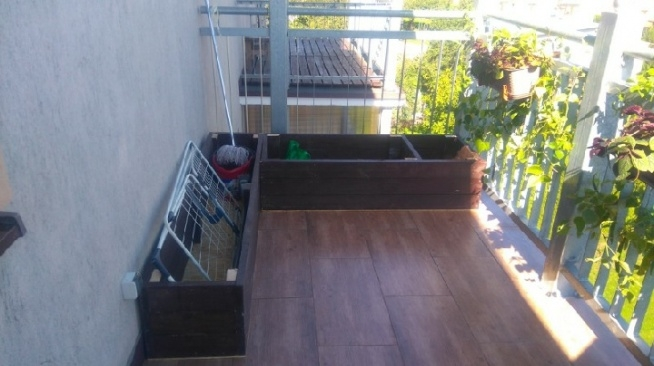 balkon w tamtym roku metamorfoza, pozniej dodam jak wyglada teraz