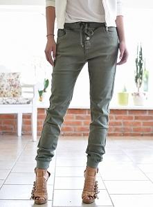 Spodnie LOUISE khaki. Ottanta - sklep online