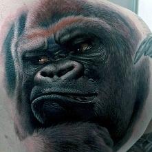amazing ape tattoo 3d