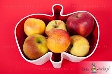 Misa w kształcie jabłka. Na jabłka, na przekąski, idealna na prezent.