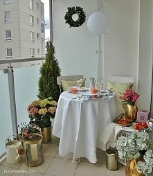 Balkon w stylu paryskim z h...