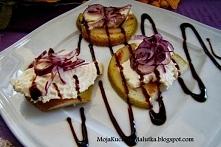 Grillowane gruszki z serem ...