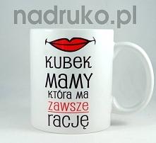 Kubek na dzień mamy do zamówienia na nadruko.pl