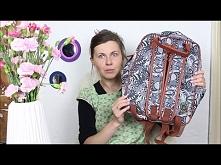 Jak i czym malować na tkaninach. Koszulka i plecak. DIY