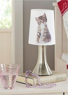 Coś dla miłośników kotów - lampka dotykowa:)